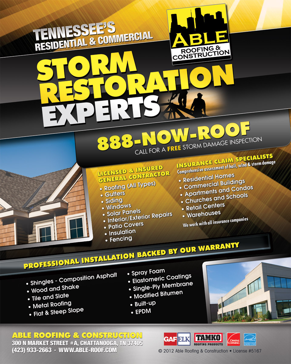 Advertisement Sc 1 Th 251. Image Number 10 Of Able Roofing Commercial ...